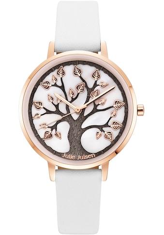 Julie Julsen Quarzuhr »Tree of Life Rosé White, JJW0927RGL-9« kaufen