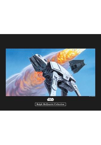 Komar Poster »Star Wars Classic RMQ Hoth Battle AT-AT«, Star Wars kaufen