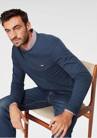 Levi's® Langarmshirt, mit Logo-Applikation kaufen