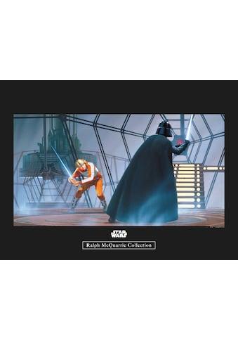 Komar Poster »Star Wars Classic RMQ Vader Luke Carbonit Room«, Star Wars kaufen
