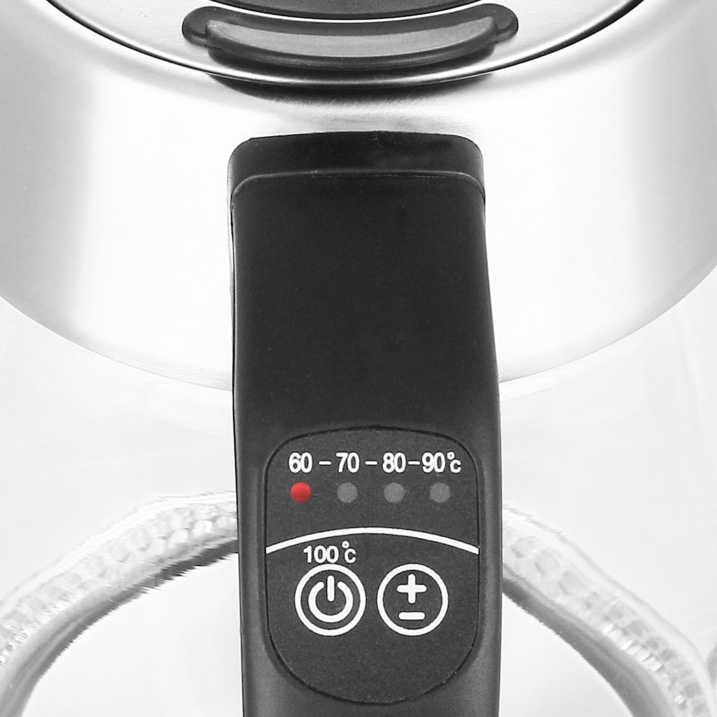 Emerio Wasserkocher »WK-122227«, 1,7 l, 2200 W