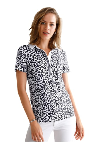 Looxent Poloshirt »mit 1/2-Arm«, Dekorative Naht kaufen
