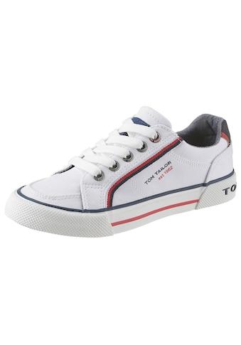 TOM TAILOR Sneaker, mit Markenschriftzug kaufen