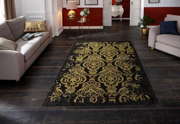 Teppich mit ornamentalem Muster