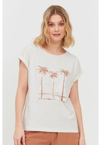 b.young T-Shirt »b.young Damen T-Shirt mit Print«, T-Shirt mit Print kaufen