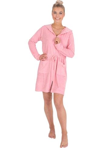 Wewo fashion Damenbademantel »031«, mit Tunnelzug zum Binden kaufen
