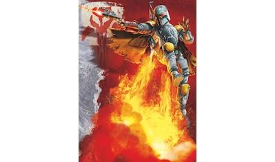 Komar Fototapete »Star Wars Boba Fett«, bedruckt-Comic, ausgezeichnet lichtbeständig kaufen