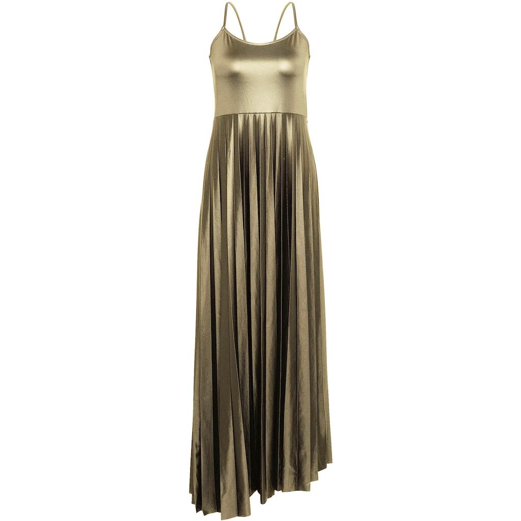 """Mavi Maxikleid »Kleid """"PLEATED""""«, Plisseekleid mit schimmernden Farbeffekt"""
