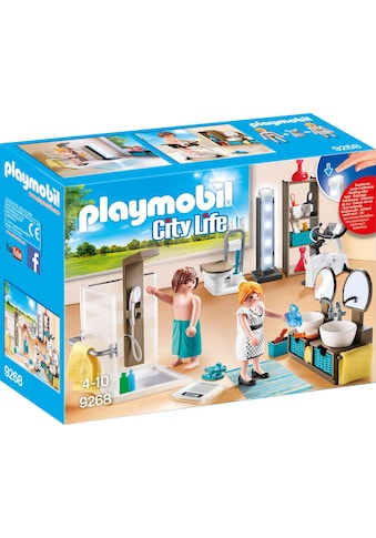 Playmobil® Konstruktions-Spielset »Badezimmer (9268), City Life«, Made in Germany kaufen