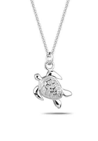Elli Collierkettchen »Süßer Anhänger Schildkröte 925 Silber« kaufen