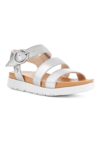 UGG Sandale »Leedah«, im Metallic Look kaufen