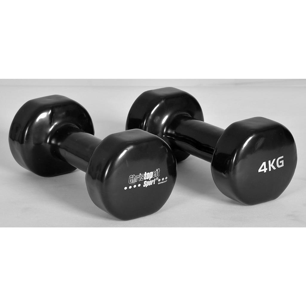 Christopeit Sport® Hantel, 8,0 kg, (2 tlg.)