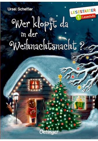 Buch »Wer klopft da in der Weihnachtsnacht? / Ursel Scheffler, Verena Körting« kaufen