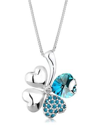 Elli Collierkettchen »Kleeblatt Kristalle 925 Sterling Silber« kaufen