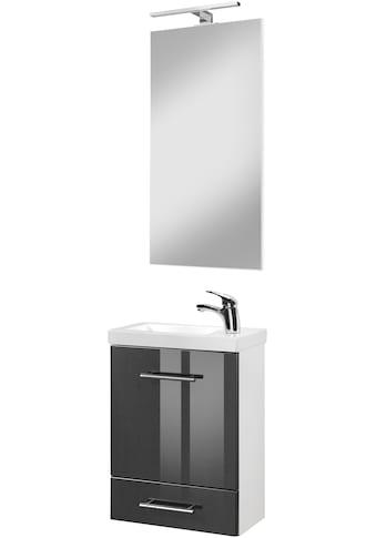 welltime Waschtisch-Set »Trento«, (Set, 4 tlg.), Breite 40cm, Gästebad SlimLine kaufen