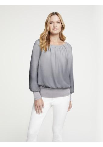 Bluse farbverlaufend kaufen