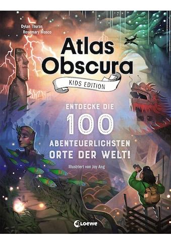 Buch »Atlas Obscura Kids Edition - Entdecke die 100 abenteuerlichsten Orte der Welt! /... kaufen