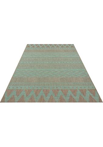 bougari Teppich »Sidon«, rechteckig, 4 mm Höhe, In- und Outdoor geeignet, Flachgewebe,... kaufen