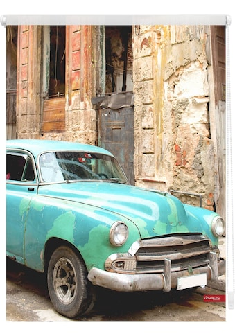 LICHTBLICK ORIGINAL Seitenzugrollo »Klemmfix Motiv Kuba«, Lichtschutz, ohne Bohren,... kaufen