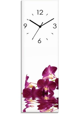 Artland Wanduhr »Phalaenopsis Orchidee« kaufen