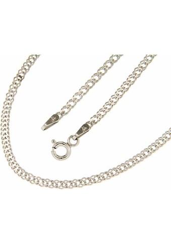 Firetti Silberkette »in Doppelpanzerkettengliederung, 2,2 mm, glanz, 2-fach diamantiert« kaufen