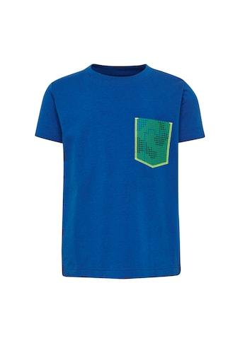 """LEGO® Wear Kurzarmshirt »LWTOMMAS 100«, """"mit einer aufgesetzten Tasche mit Muster"""" kaufen"""