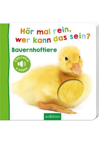 Buch »Hör mal rein, wer kann das sein? - Bauernhoftiere / DIVERSE« kaufen