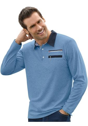Marco Donati Langarm - Shirt mit konfektioniertem Kragen kaufen