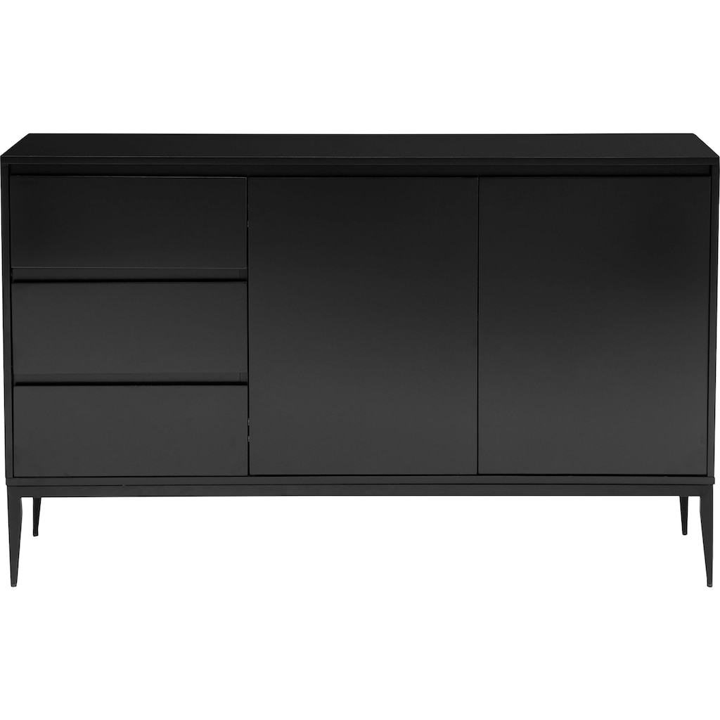 Places of Style Sideboard »Saltaire«, In modernem Design, Ganzmetall-Scharniere