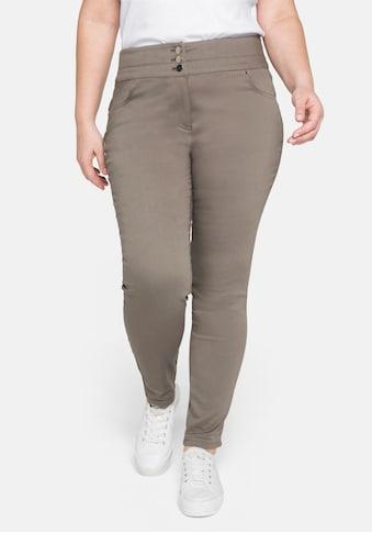 Sheego Stretch-Hose, »Die Skinny« mit breitem Formbund kaufen