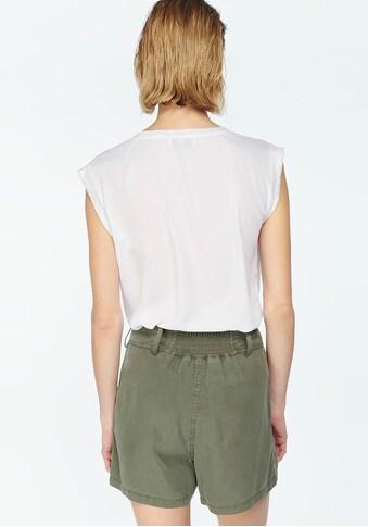 Le Temps Des Cerises V-Shirt »ODILE-LTDC«, mit V-Ausschnitt und Pünktchen Design vorne kaufen