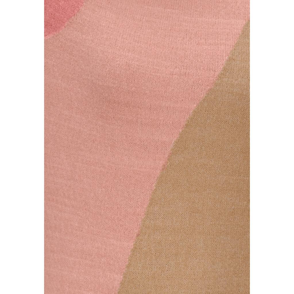 Boysen's Longpullover, color blocking