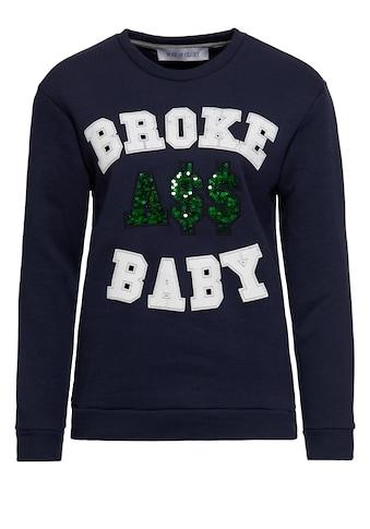 Way of Glory Sweater, mit Pailletten kaufen