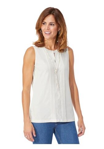 Lady Shirttop mit edler Spitze kaufen