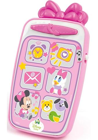 Clementoni® Spieltelefon »Disney Baby Minnie Smartphone«, mit Licht und Sound kaufen