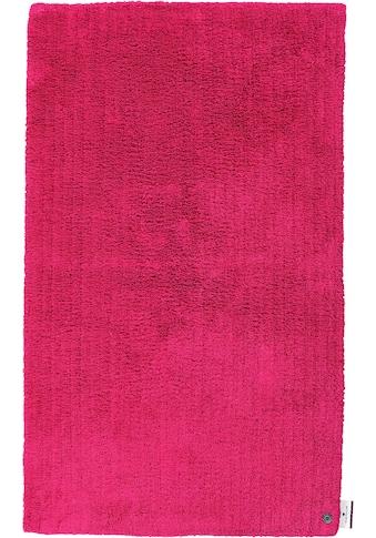TOM TAILOR Badematte »Cotton Double Uni«, Höhe 20 mm, beidseitig nutzbar-fußbodenheizungsgeeignet-strapazierfähig, besonders weich und flauschig kaufen