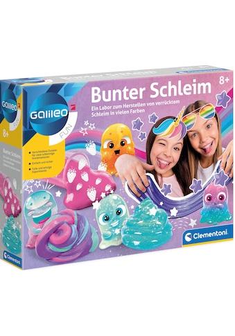 Clementoni® Experimentierkasten »Galileo - Bunter Schleim«, Made in Europe kaufen