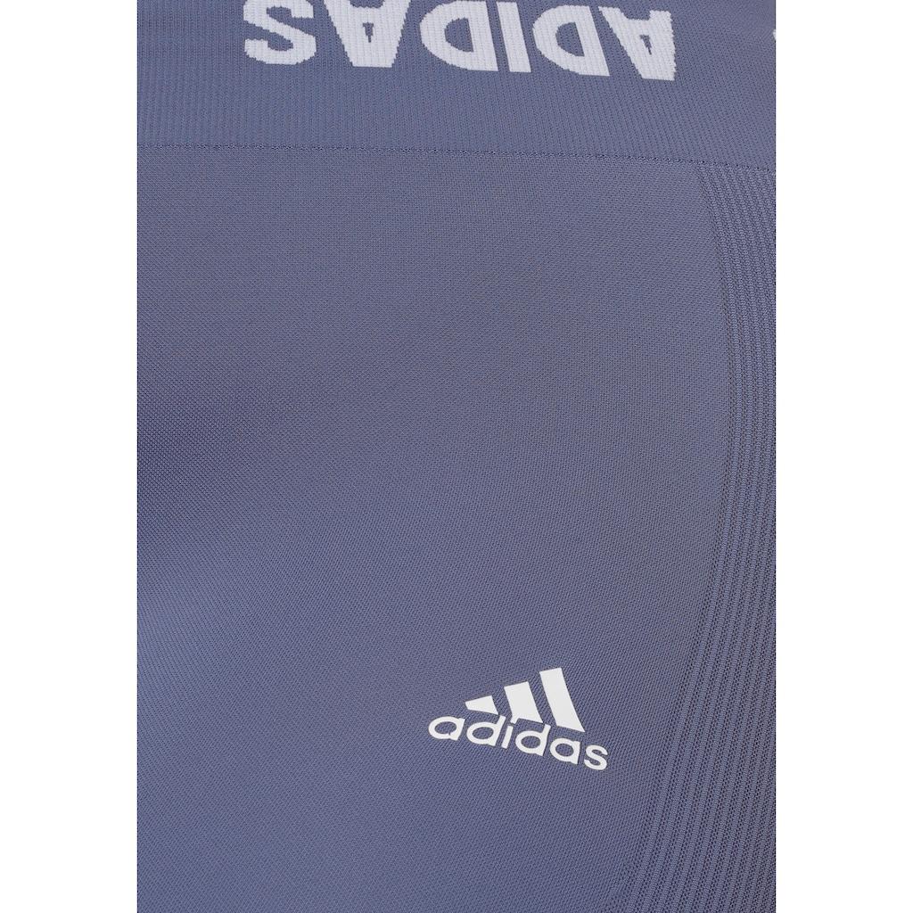 adidas Performance Trainingstights »AEROKNIT TRAINING 7/8 TIGHT PLUS SIZE«