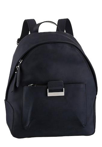 GERRY WEBER Bags Cityrucksack »be different backpack mvz«, in zeitlosen Desing mit silberfarbenen Details kaufen