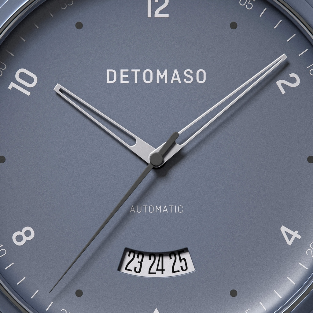 DETOMASO Automatikuhr »VIAGGIO AUTOMATIC BLUE«