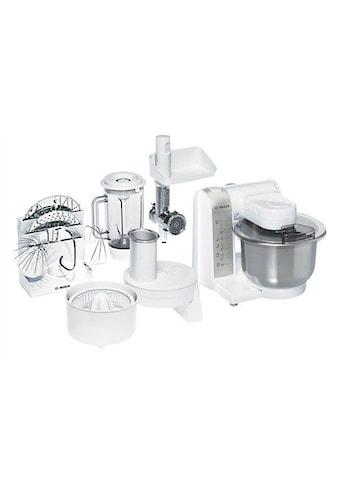 BOSCH Küchenmaschine »MUM4880«, mit Edelstahl-Rührschüssel und viel Zubehör kaufen