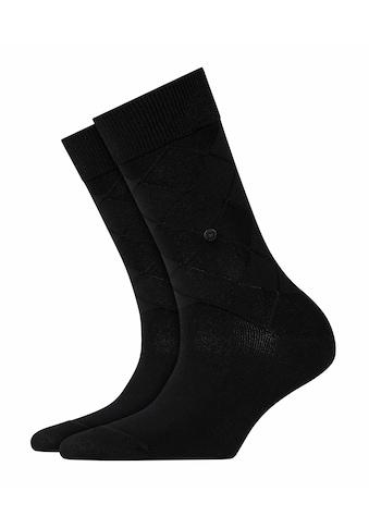 Burlington Socken »Black Rhomb«, (1 Paar), mit weicher Baumwolle kaufen