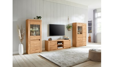 Premium collection by Home affaire Wohnwand »Burani«, (Set, 3 tlg.), teilmassives Holz kaufen