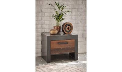 Home affaire Nachtkommode »BROOKLYN«, in dekorativer Rahmenoptik kaufen