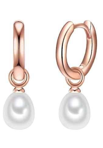 Valero Pearls Paar Creolen »50100026«, mit abnehmbaren Einhängern und... kaufen