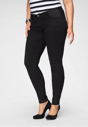 Arizona Skinny-fit-Jeans »Ultra Stretch«, Low Waist mit seitlichen Stretch-Einsätzen am Bund kaufen
