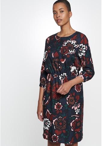seidensticker Sommerkleid »Schwarze Rose«, 3/4 Arm Rundhals Floral kaufen