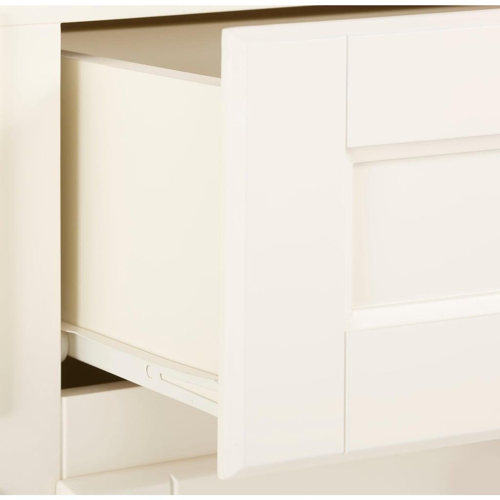 Premium collection by Home affaire Schuhkommode »Arabeske«, mit schönen Ornamenten in den Klappenfronten, Breite 90 cm