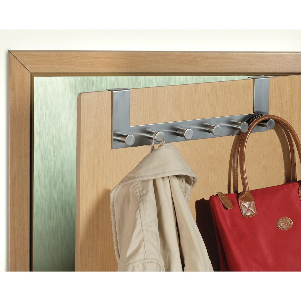 WENKO Türgarderobe »Celano«, für einen Türfalz bis ca. 2 cm