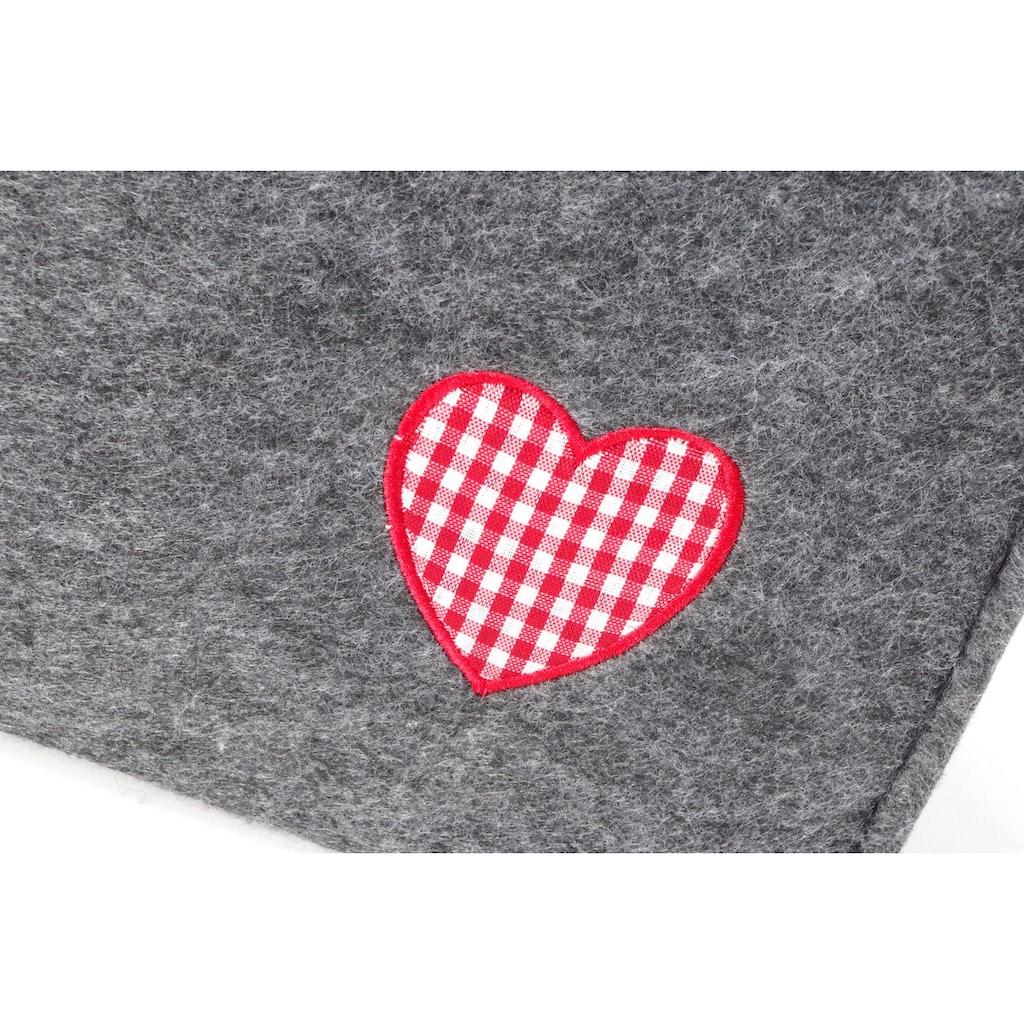 locker Aufbewahrungstasche »Rotes Herz«